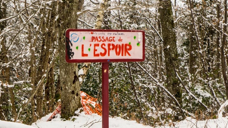 Exposition photo «Les Chambarans: une ZAD en hiver»