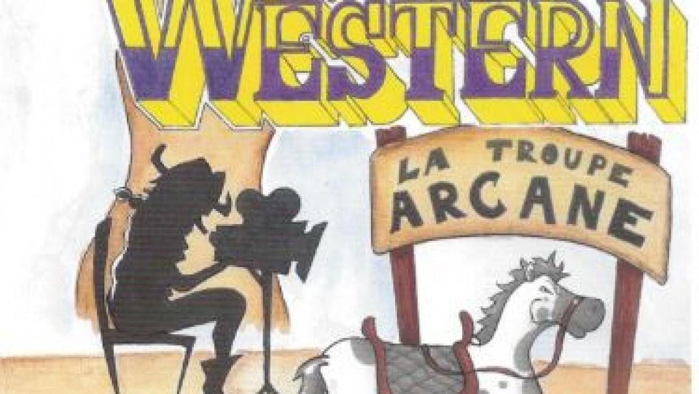 Spectacle Western à la Ferme Perret