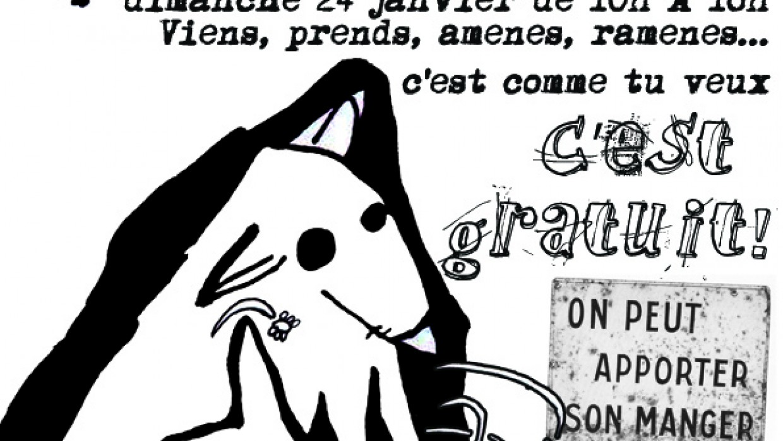 DIMANCHE 24 JANVIER TROC DE GRAINES ET ZONE DE GRAT'