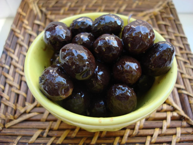 Gros plan sur les olives de Nyons aoc