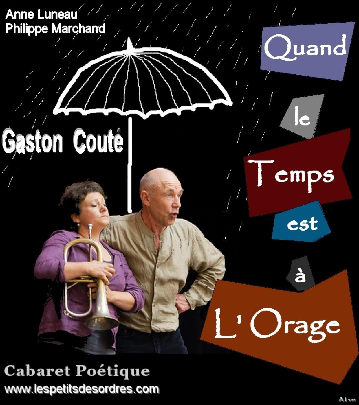 «GASTON COUTÉ», LECTURES EN MUSIQUE LE 20 SEPTEMBRE