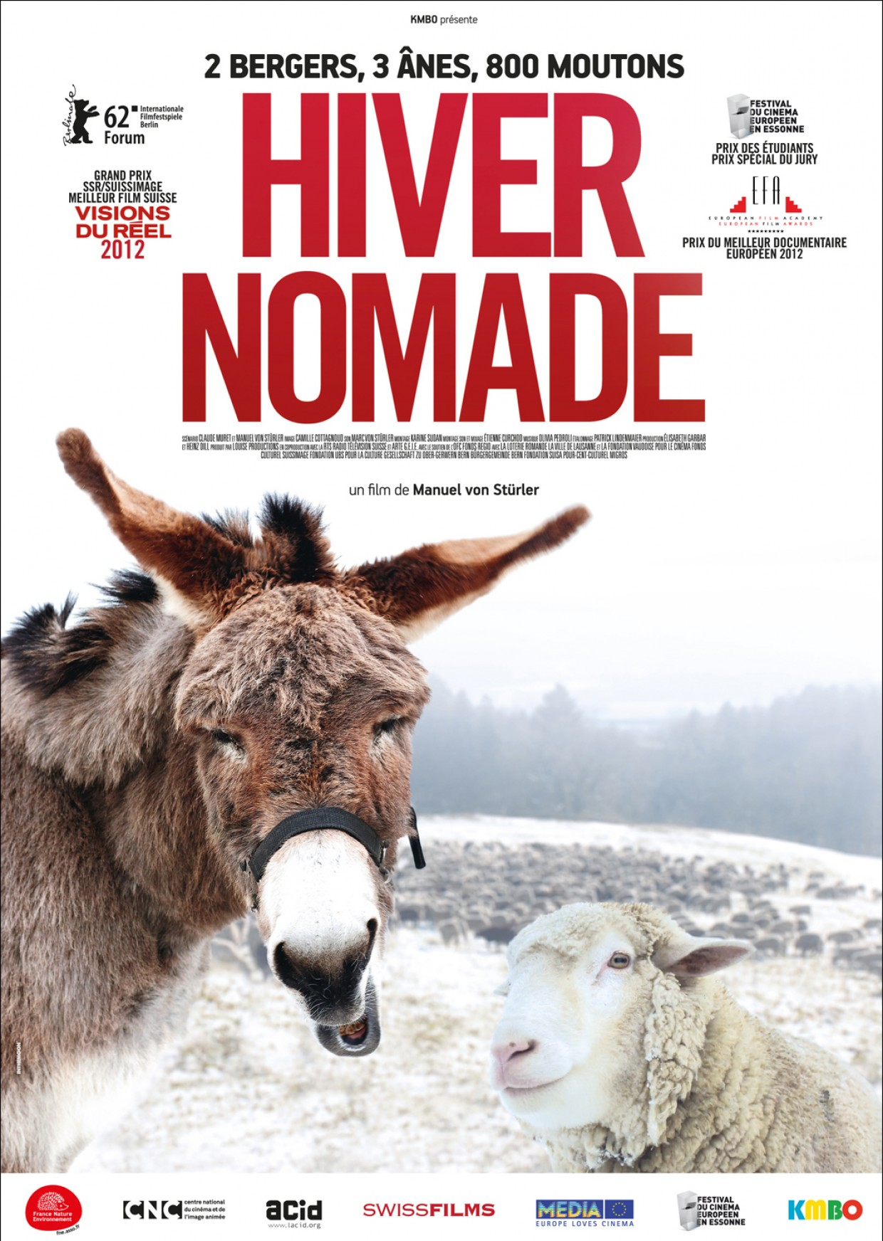 PROJECTION «HIVER NOMADE» JEUDI 24 MARS A 20H