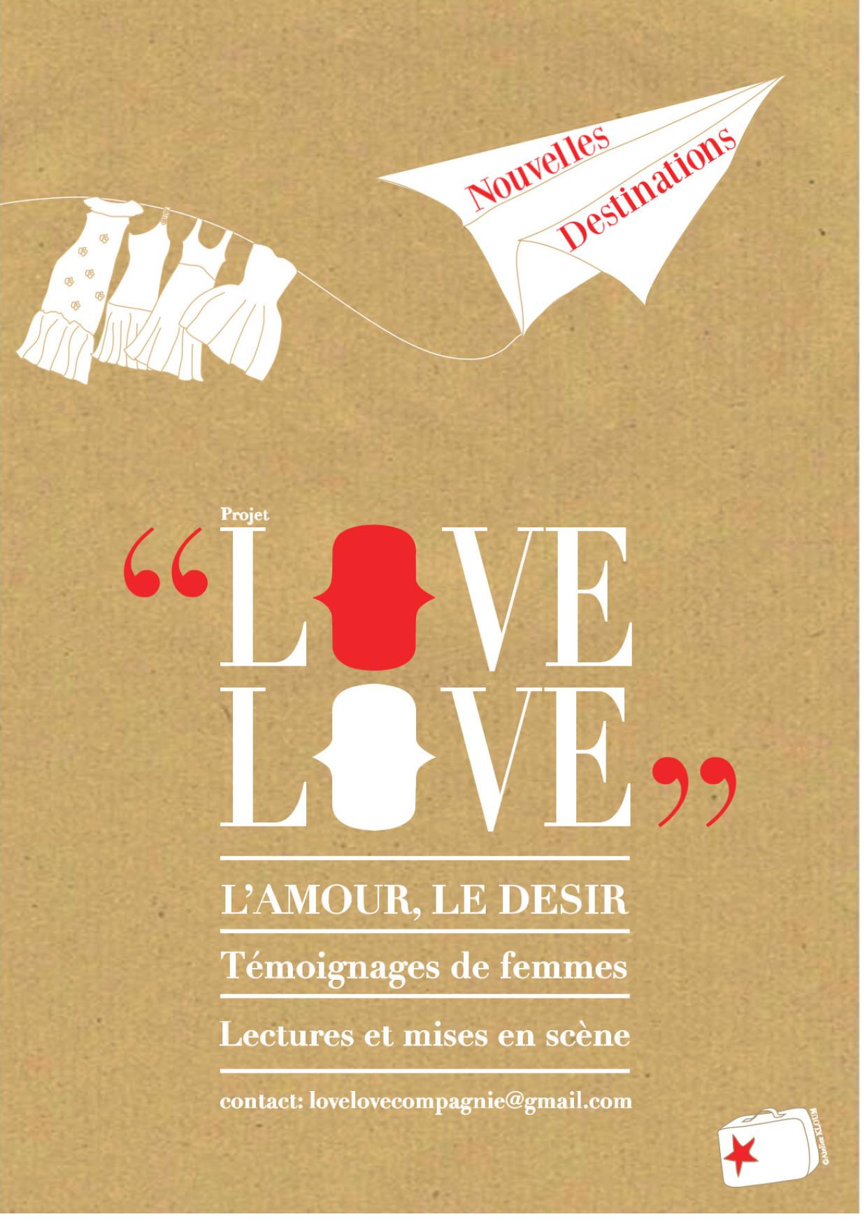 THÉÂTRE «LOVE LOVE » SAMEDI 17 FÉVRIER