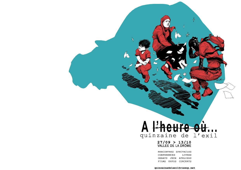 QUINZAINE DE L'EXIL DIMANCHE 7 OCTOBRE