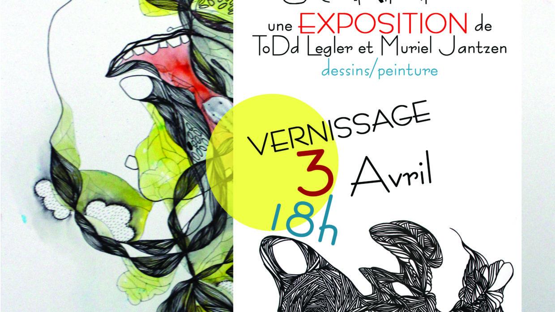 «SCRAB» Expo Dessin/Peinture du 03 avril au 03 Mai